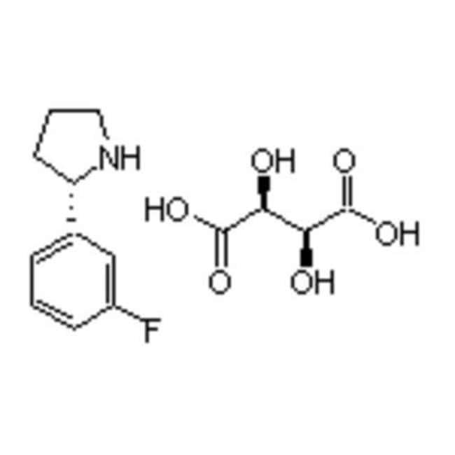 Accela Chembio Inc (S)-2-(3-FLUOROPHENYL)PYR 1G  (S)-2-(3-FLUOROPHENYL)PYR