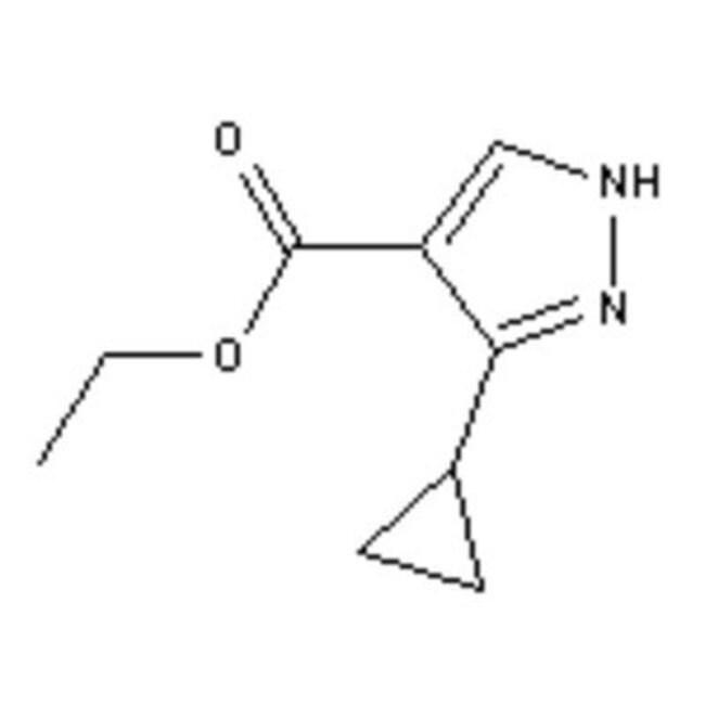 Accela Chembio Inc ETHYL 3-CYCLOPROPYLPYRAZO 5G  ETHYL 3-CYCLOPROPYLPYRAZO