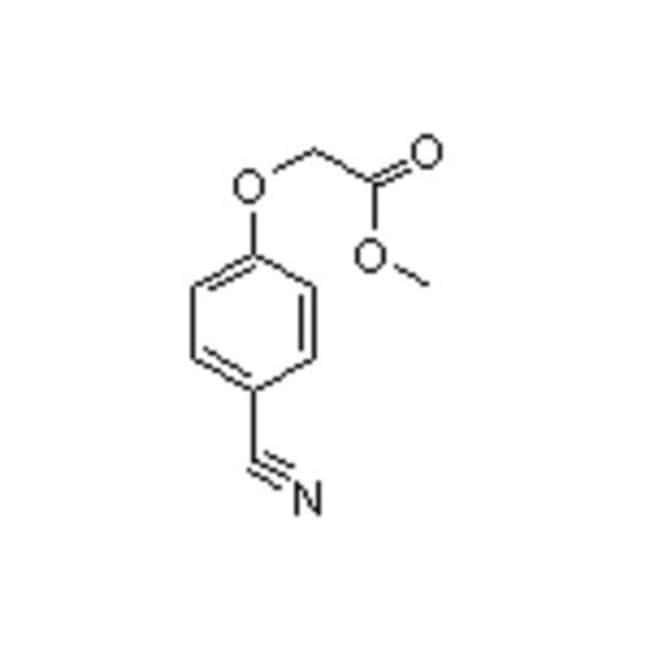 Accela Chembio Inc METHYL (4-CYANOPHENOXY)AC 25G  METHYL (4-CYANOPHENOXY)AC