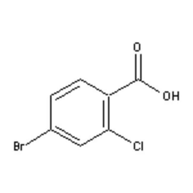 Accela Chembio Inc 4-BROMO-2-CHLOROBENZOIC A 100G  4-BROMO-2-CHLOROBENZOIC