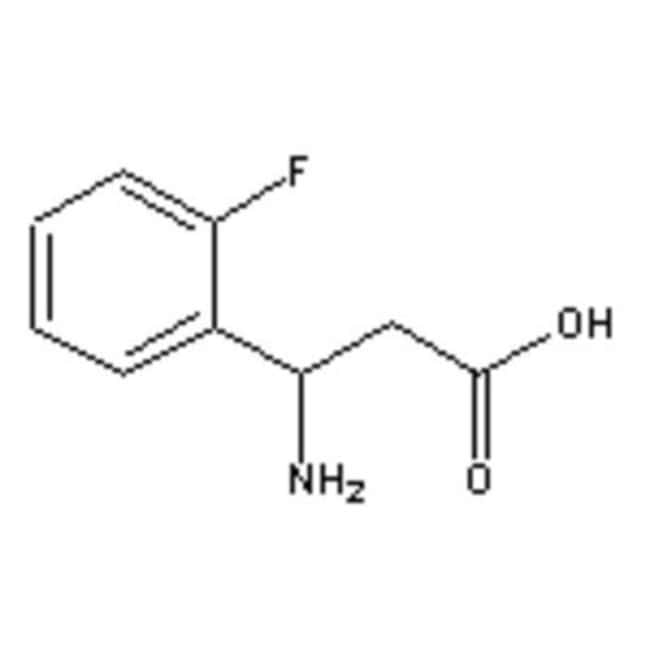 Accela Chembio Inc 3-AMINO-3-(2-FLUOROPHENYL 5G  3-AMINO-3-(2-FLUOROPHENYL