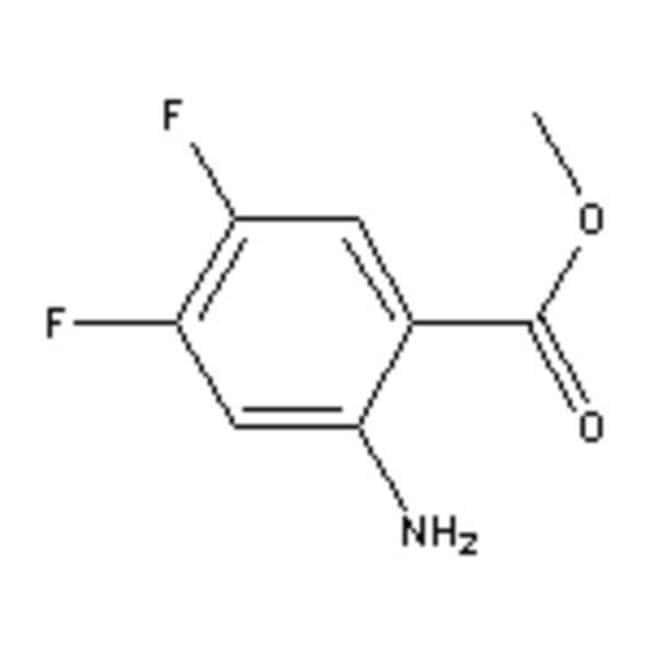 Accela Chembio Inc METHYL 2-AMINO-4,5-DIFLUO 25G  METHYL 2-AMINO-4,5-DIFLUO