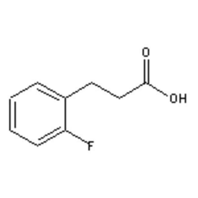 Accela Chembio Inc 3-(2-FLUOROPHENYL)PROPION 25G  3-(2-FLUOROPHENYL)PROPION