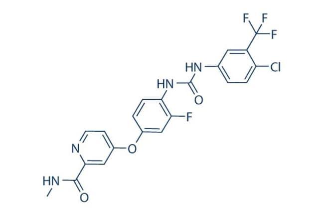 Selleck Chemical LLCRegorafenib (BAY 73-4506) 10mg 755037-03-7 Fluoro-Sorafenib,