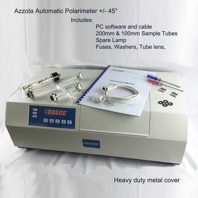 Azzota Corp LCD display, Fully automatic Polarimeter, Measurement range: