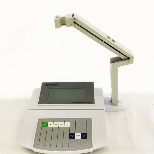 Azzota Corp Benchtop Precision pH/mV/C/ F Meter, pH Range -2.00-16.00pH,