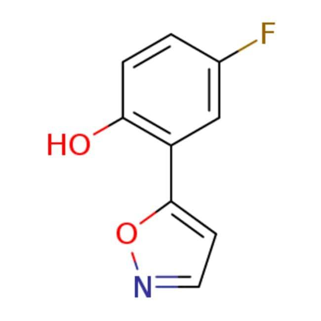 emolecules 4 fluoro 2 5 isoxazolyl phenol 288401 62 7 1g 4 fluoro 2 5 isoxazolyl ph fisher scientific fisher scientific