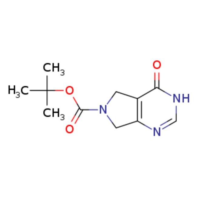 eMolecules 1-Boc-3,4,5,7-tetrahydro-4-oxo-6H-pyrrolo[3,4-d]pyrimidine