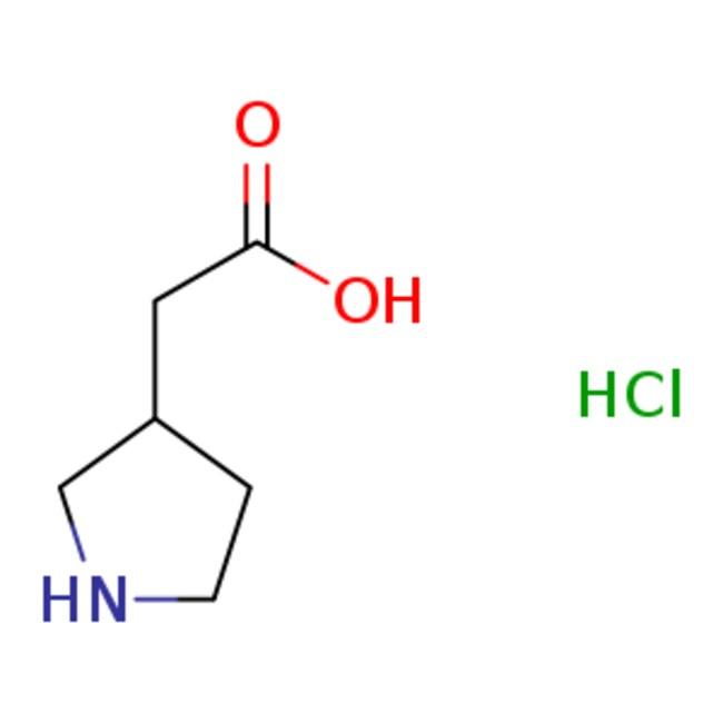 eMolecules 2-(pyrrolidin-3-yl)acetic acid | 89203-64-5 | 1G  2-(PYRROLIDIN-3-YL)ACETIC