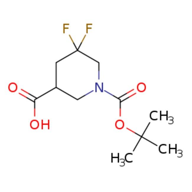 eMolecules 1-[(tert-butoxy)carbonyl]-5,5-difluoropiperidine-3-carboxylic
