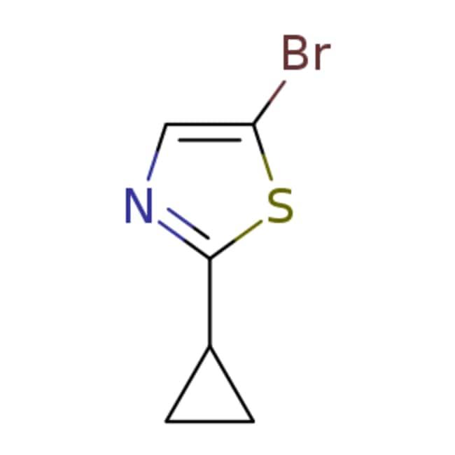 eMolecules 5-Bromo-2-cyclopropyl-thiazole | 1086382-42-4 | 1G  5-BROMO-2-CYCLOPROPYL-THIAZ