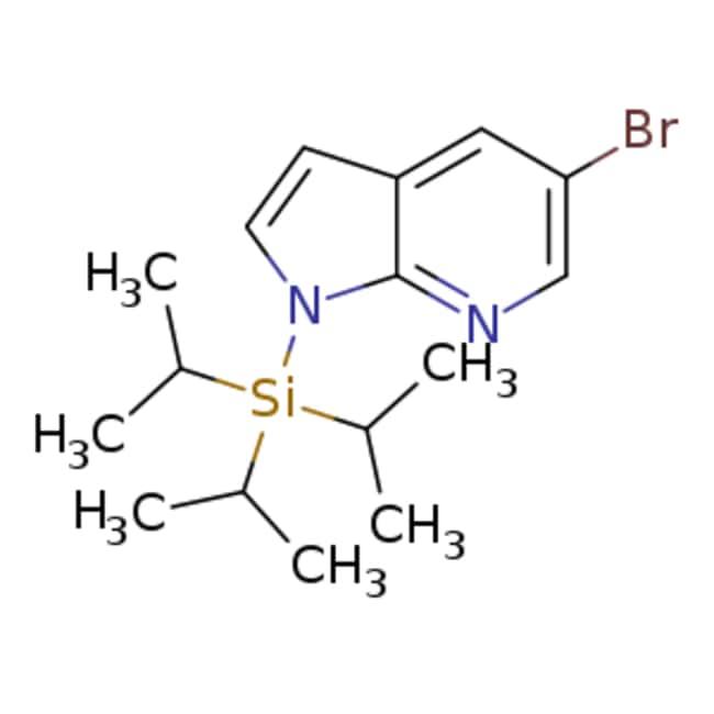 eMolecules 5-Bromo-1-triisopropylsilanyl-7-azaindole | 858116-66-2 | 25G