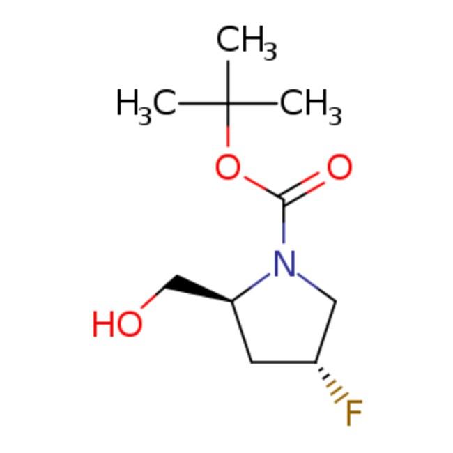 eMolecules (2S,4R)-1-(tert-Butoxycarbonyl)-4-fluoro-2-hydroxymethylpyrrolidine