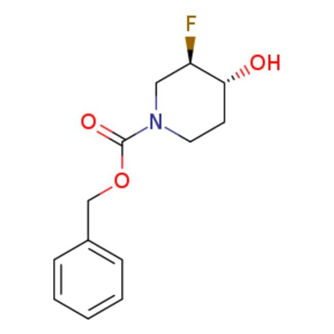 eMolecules trans-1-Cbz-3-fluoro-4-hydroxypiperidine | 913574-96-6 | 5G