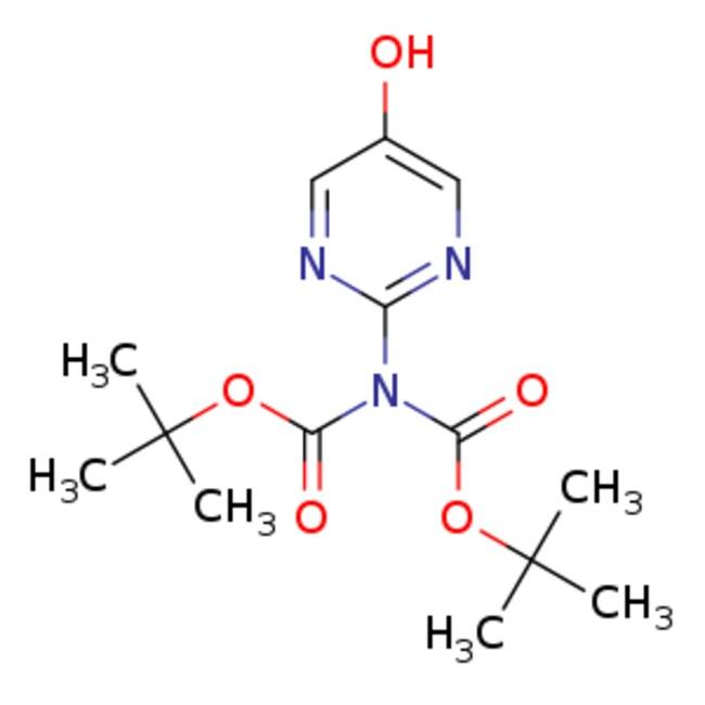 eMolecules Imidodicarbonic acid, 2-(5-hydroxy-2-pyrimidinyl)-, 1,3-bis(1,1-dimethylethyl)
