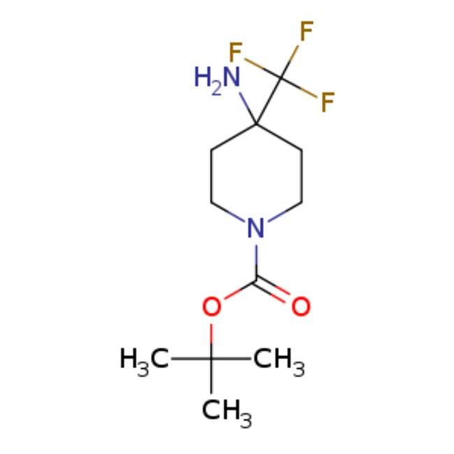eMolecules 1-Boc-4-amino-4-trifluoromethylpiperidine | 1211582-61-4 |