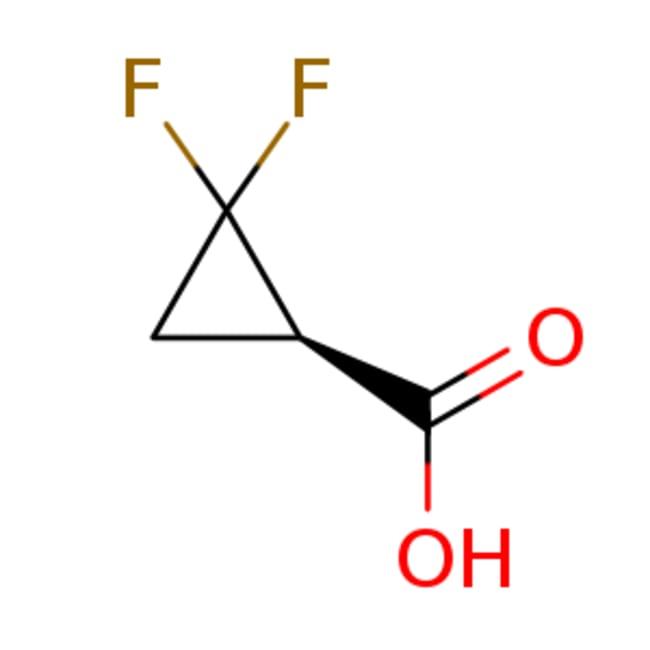 eMolecules (1R)?2,2?difluorocyclopropane?1?carboxylic acid | 1631747-25-5