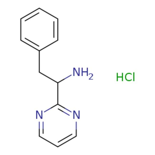 eMolecules2-phenyl-1-(pyrimidin-2-yl)ethan-1-amine hydrochloride | 1955494-13-9