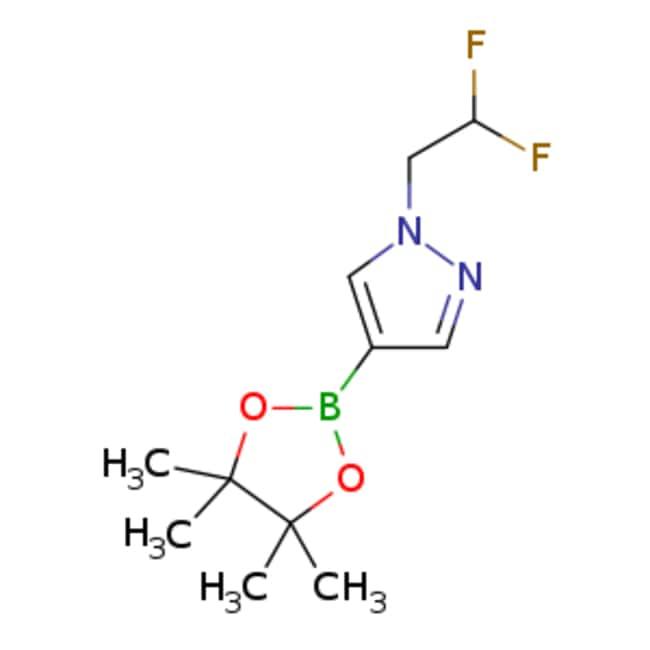 eMolecules 1-(2,2-difluoroethyl)-4-(tetramethyl-1,3,2-dioxaborolan-2-yl)-1H-pyrazole