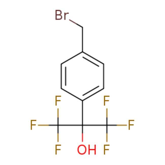 eMolecules 2-[4-(Bromomethyl)phenyl]-1,1,1,3,3,3-hexafluoropropan-2-ol