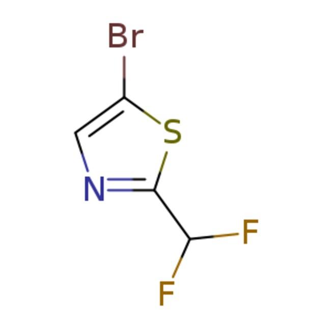 eMolecules5-Bromo-2-(difluoromethyl)thiazole | 1319255-36-1 | 250MG