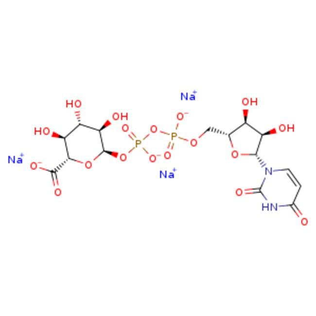 eMoleculesUridine-5'-diphosphoglucuronic Acid (sodium salt)   63700-19-6