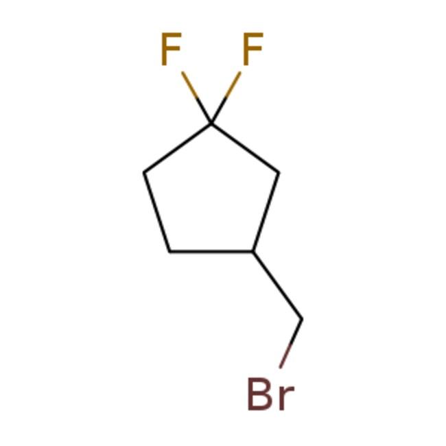 eMolecules 3-(bromomethyl)-1,1-difluorocyclopentane | 1695914-13-6 | 500MG