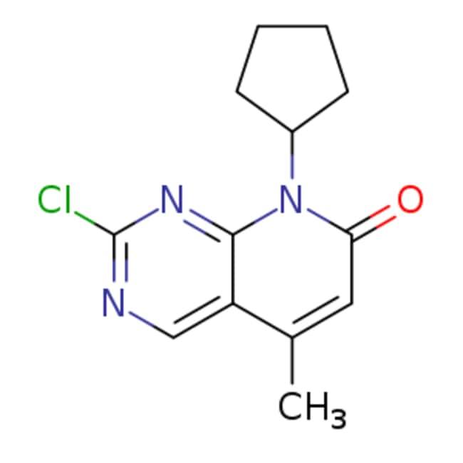eMolecules 2-chloro-8-cyclopentyl-5-methyl-7H,8H-pyrido[2,3-d]pyrimidin-7-one