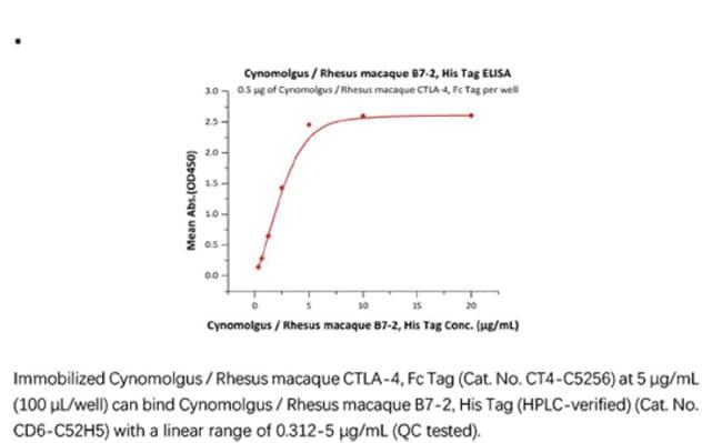 ACROBiosystemsRecombinant Protein;Cynomolgus / Rhesus macaque B7-2 / CD86