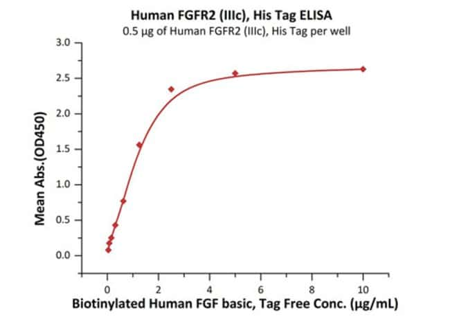 ACROBiosystemsHuman FGF R2 (IIIc) protein, His Tag (MALS verified)