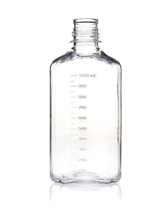 Foxx Life Sciences EZBio 1L (1,000mL) PETG Media Bottles, Non-Sterile,