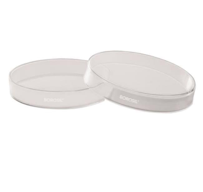 Foxx Life Sciences Borosil(T) Culture/ Petri Dish, with Cover, 3.3 Borosilicate,
