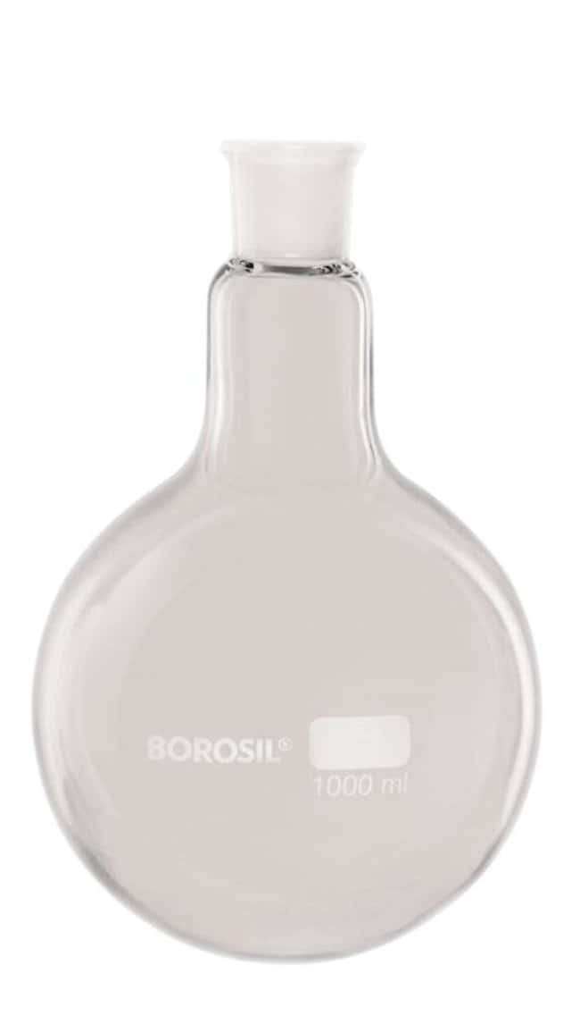 Foxx Life Sciences Borosil(T) Round Bottom Boiling Flask with Interchangeable
