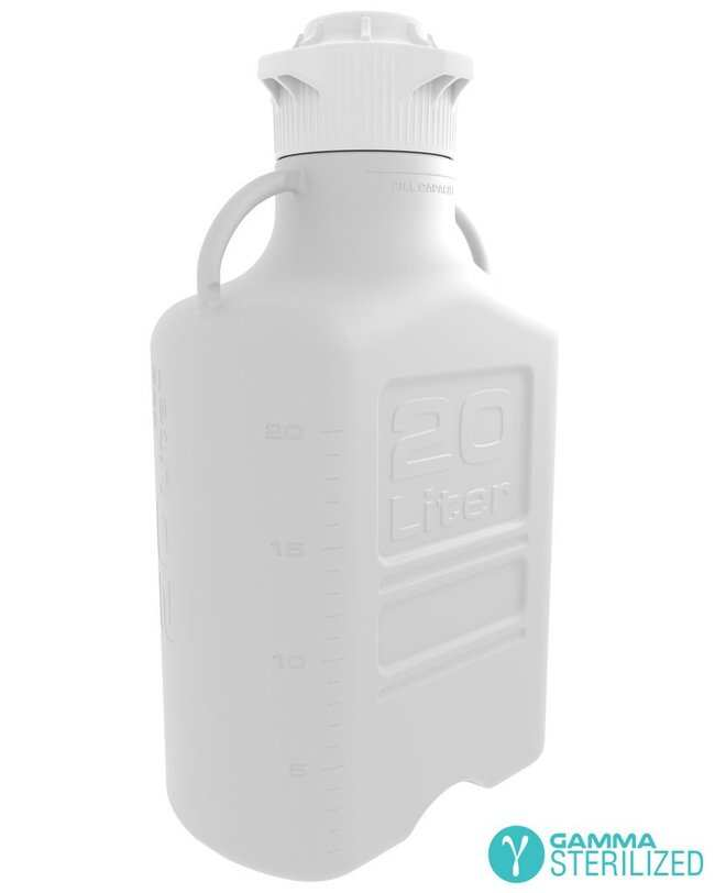 Foxx Life Sciences EZBio(T) 20L (5 GAL) Gamma Sterilized Double Bagged