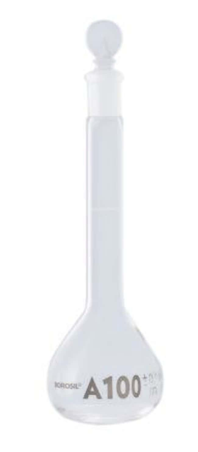 Foxx Life Sciences Borosil(T) Wide Mouth Class A Volumetric Flasks with