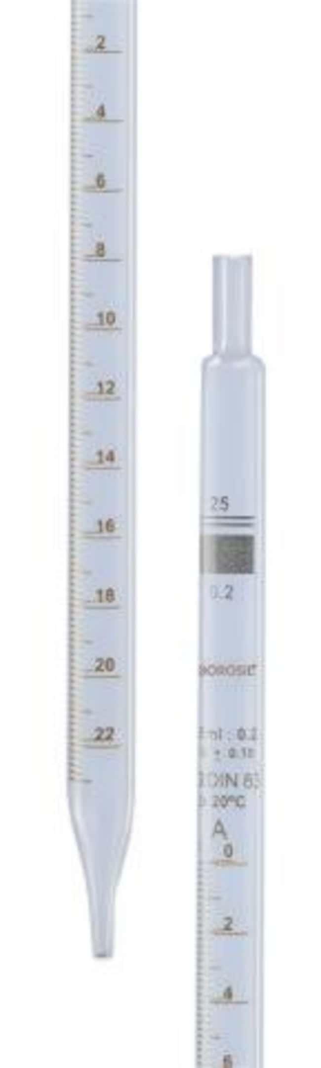 Foxx Life Sciences Borosil(T) Reusable Class B Mohr (Measuring) Pipettes