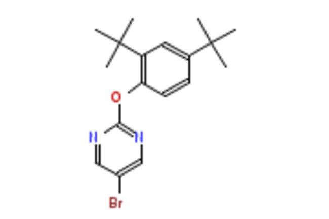 eMolecules 5-BROMO-2-(2,4-DI-TERT-BUTYLPHENOXY)PYRIMIDINE | 1017788-99-6