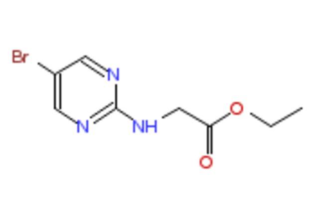 eMolecules ETHYL 2-(5-BROMOPYRIMIDIN-2-YLAMINO)ACETATE | 1159823-83-2