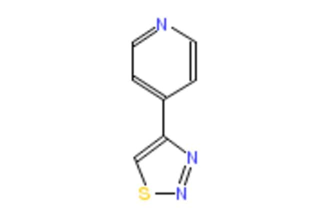 eMolecules 4-(4-1,2,3-THIADIAZOLYL)PYRIDINE | 102253-71-4 | 5G | Purity: