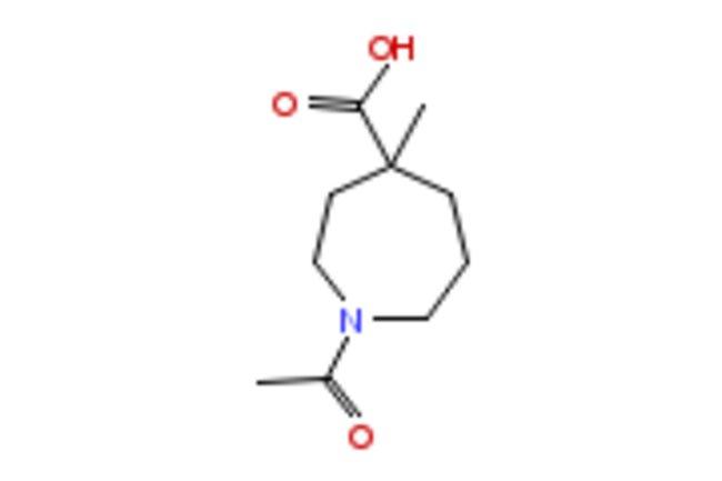eMolecules 1-ACETYL-4-METHYLAZEPANE-4-CARBOXYLIC ACID   1027511-99-4  
