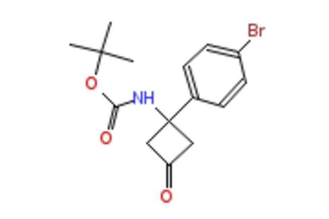 eMolecules 1-BOC-AMINO-1-(4-BROMOPHENYL)-3-OXOCYCLOBUTANE 1G AstaTech