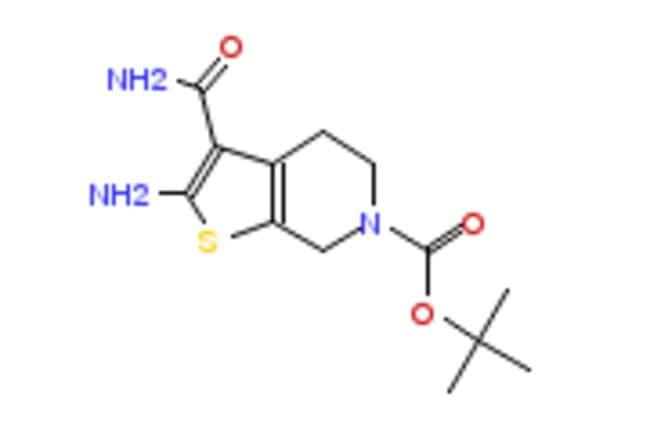 eMolecules 2-AMINO-6-BOC-3-CARBAMOYL-4,5-DIHYDROTHIENO[2,3-C]PYRIDINE