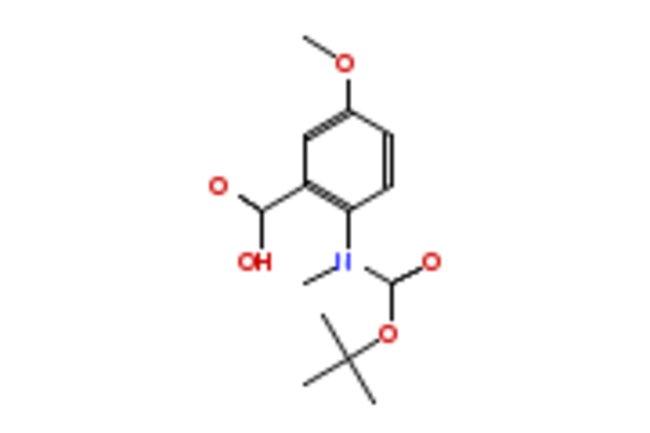eMolecules N-BOC-N-METHYL-5-METHOXYANTHRANILIC ACID   886362-08-9   1G