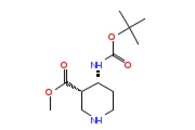 eMolecules CIS-4-BOC-AMINO-PIPERIDINE-3-CARBOXYLIC ACID METHYL ESTER  