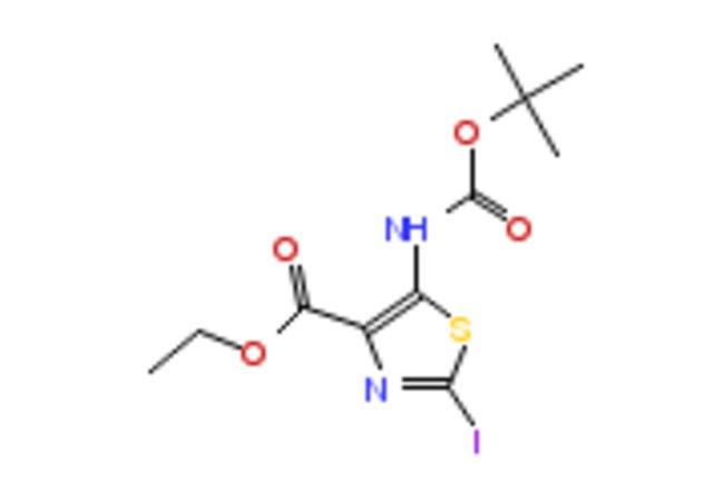 eMolecules ETHYL 5-BOC-AMINO-2-IODOTHIAZOLE-4-CARBOXYLATE | 1206630-28-5