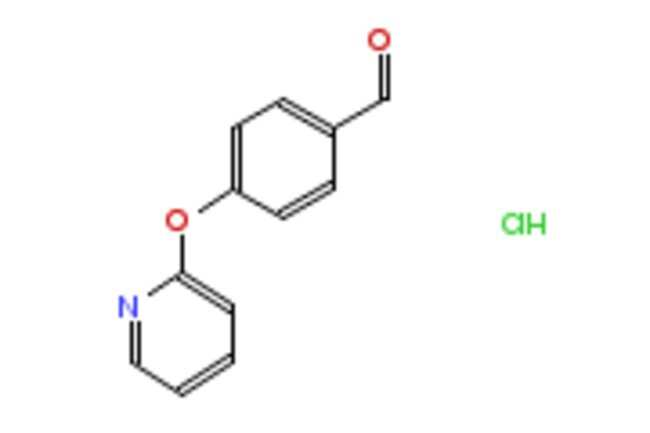 eMolecules 4-(PYRIDIN-2-YLOXY)BENZALDEHYDE HYDROCHLORIDE | 1172759-99-7
