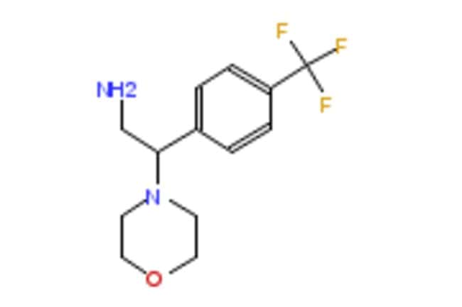 eMolecules 2-MORPHOLIN-4-YL-2-[4-(TRIFLUOROMETHYL)PHENYL]ETHYLAMINE |