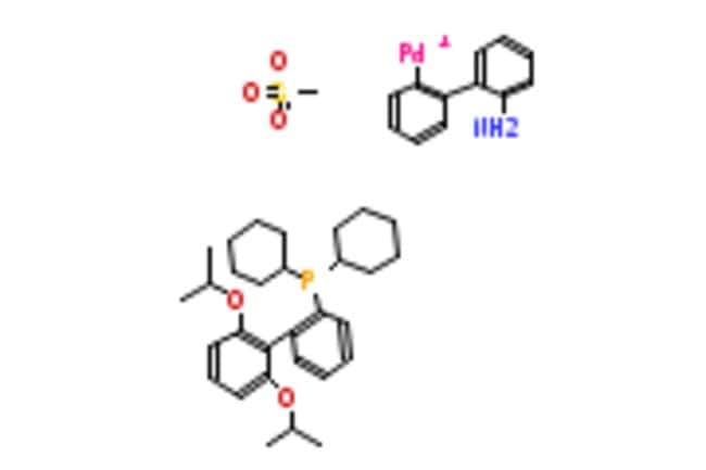 eMolecules METHANESULFONATO(2-DICYCLOHEXYLPHOSPHINO-2',6'-DI-I-PROPOXY-1,1'-BIPHENYL)(2'-AMINO-1,1'-BIPHENYL-2-YL)PALLADIUM(II)
