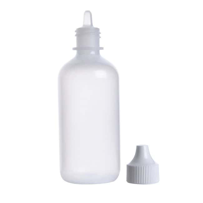 DWK Life Sciences Wheaton™ LDPE Dropping Bottles With Streaming Tips and Polypropylene Caps