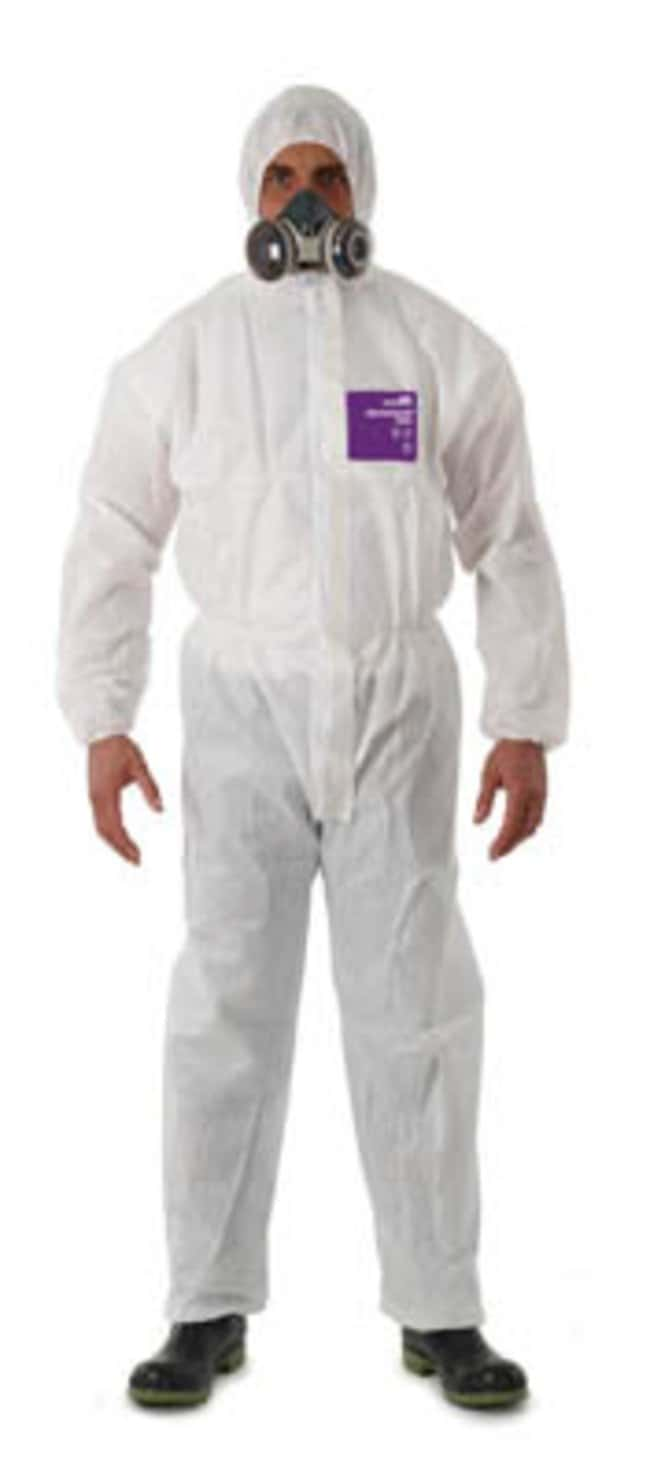 Ansell Edmont™ Microgard™ 1500 White Coveralls with Hood Medium Products